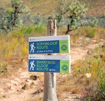 Stellenbosch | Sosyskloof Hike Markers