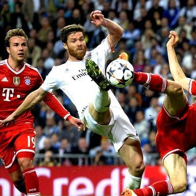 Real Madrid down Bayern Munich