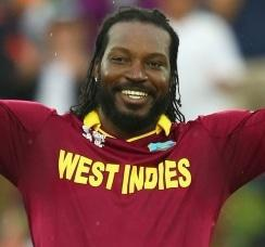 Gayle blasts first ever World Cup 200