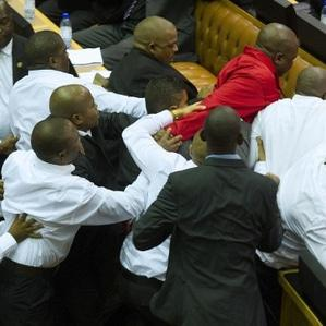 SONA 2015: Chaos strikes in Parly