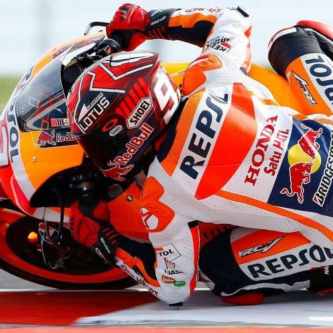 "Marquez: ""Unfortunately we touched and I crashed…"""