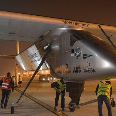 Solar plane pilot readies for record Pacific flight