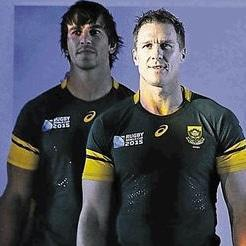 At 180g the new Springbok jersey is 131g lighter