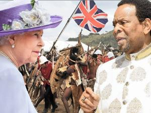Zwelithini: British royals must pay!
