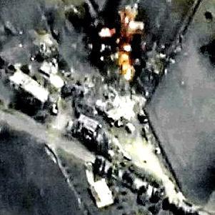 Iran marches into Syria
