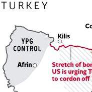 War with Isis: President Obama demands that Turkey close stretch of border with Syria