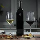 Wine bottle serves wine by the glass plus 1 month shelf life