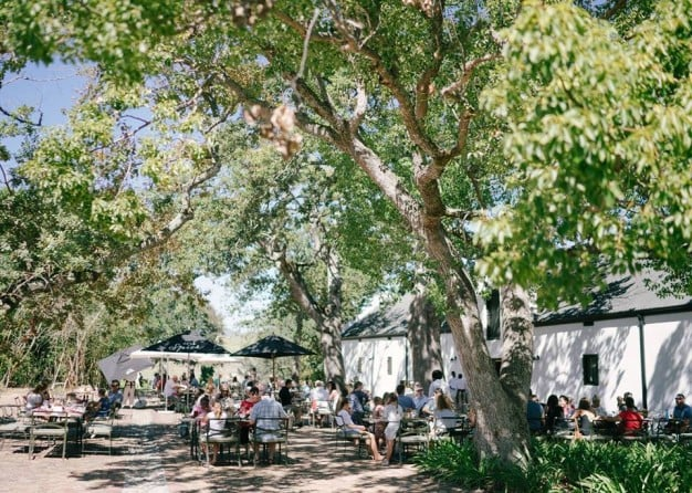 Easter Courtyard Lunch at Spier