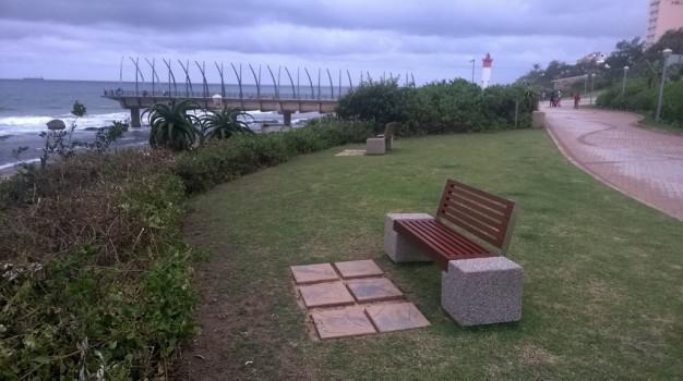 Umhlanga Promenade now has benches