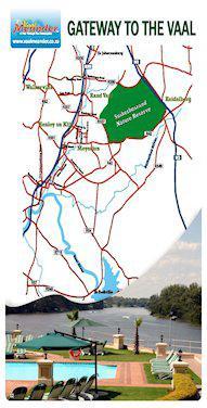 Midvaal Area Map