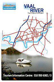 Vaal River Upper Barrage Area Map