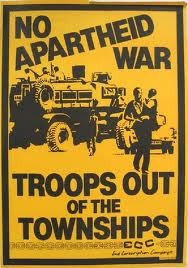 No apartheid war