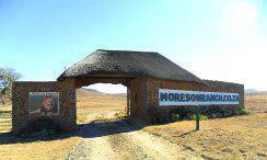 The gate at Moresom Ranch