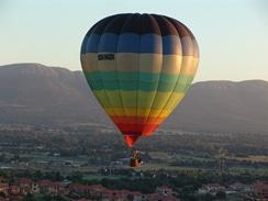 hot-air-ballooning in the Vaal