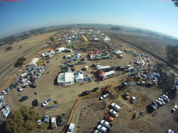 Extreme Outdoor Show - From the air!