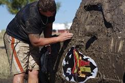 Mud at the Extreme outdoor show
