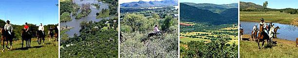 Horse Riding in the Vredefort Dome, South Africa