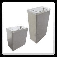 Stainless Steel Sanitary Bins