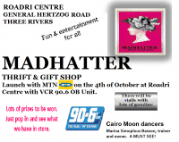 MADHATTER LAUNCH ADVERT