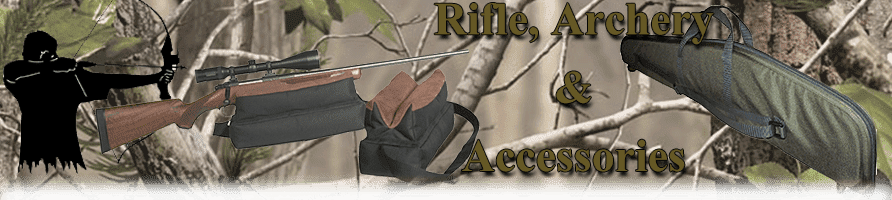 Rifle, Archery Bags and Accessories