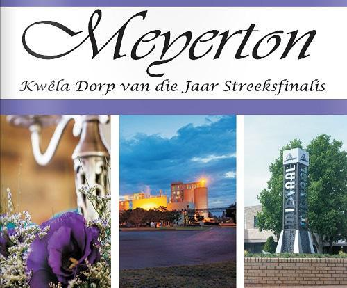 Meyerton Town of The Year 2015