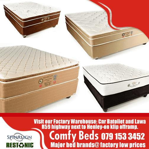 Comfy Beds Factory Warehouse Randvaal Vaal