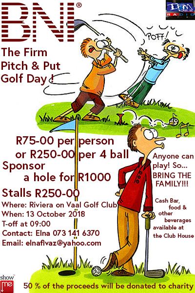 BNI Golf Day