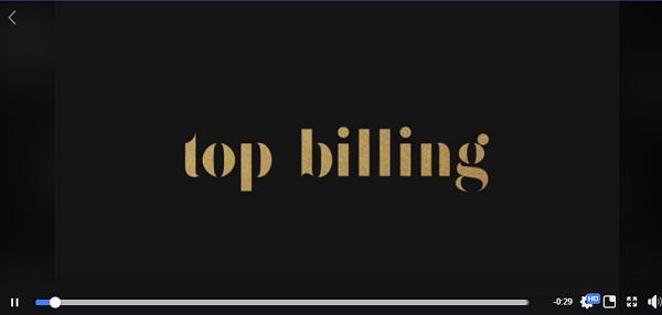 Top Billing Promo