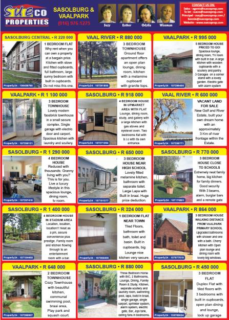 SueCo Properties - Vaalpark-Sasolburg