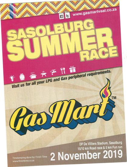 Summer Race Brochure