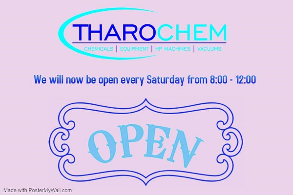 Tharochem open on Saturdays