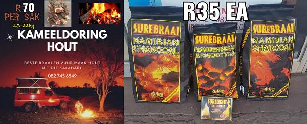 KChing Bargain Store - Kameeldoring Braai Hout and Charcoal