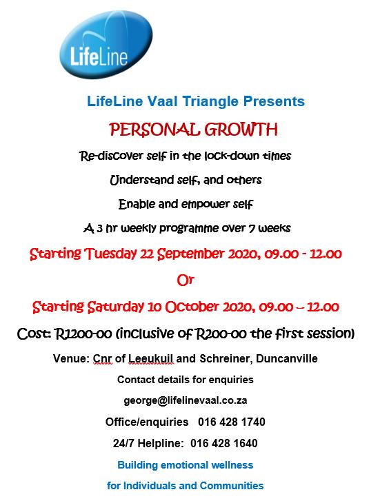 Personal Growth Pamflet