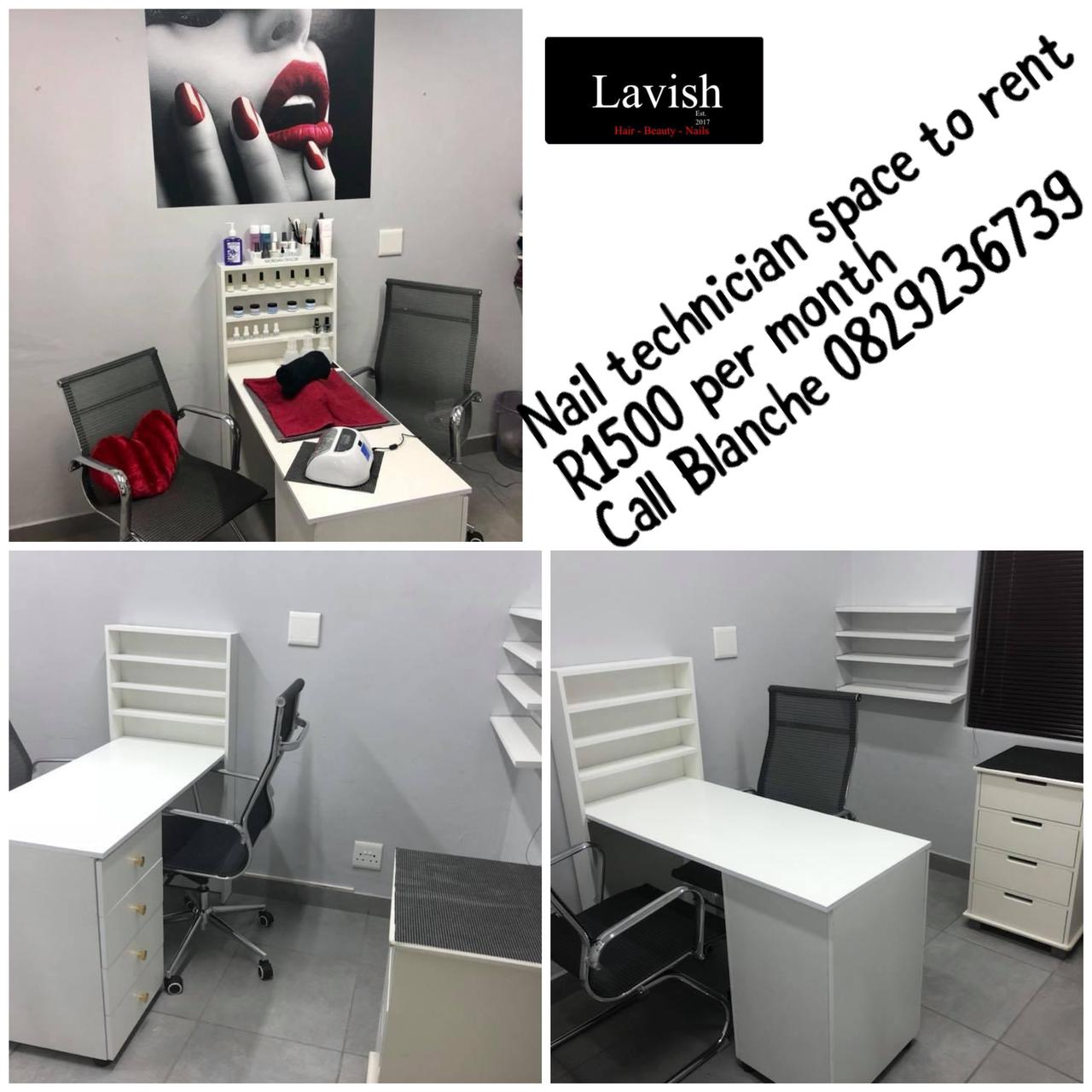 Nail Technician Space to Rent