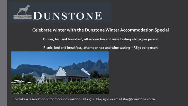 Dunstone winter special