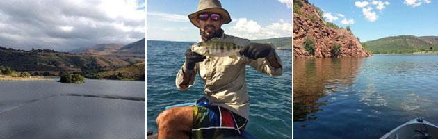 Fishing at Loskop