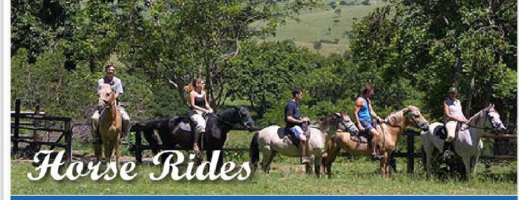 Horse rides Loskop Dam