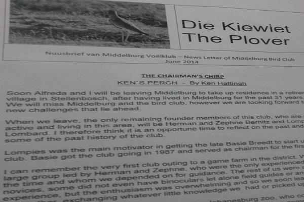 Middelburg Bird Club