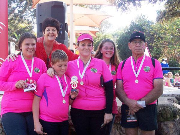 1st Team - Pink Heroes for Hospice